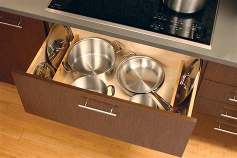 storage kitchen drawers pots pans drawer deep organize lid pan cabinet solutions pot organization lids cabinets under stove cooktop ways