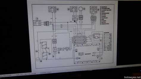 studying yamaha g19e electrics while waiting out the bob s