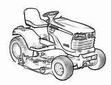 Deere Tractor Coloring John Drawing Traktor Kosiarka Promising Kolorowanka Tractors 1024 Drukowania Birijus sketch template