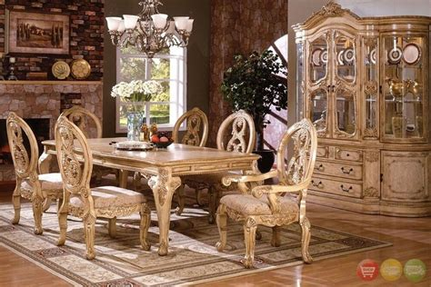 Dining Room Sets by Tuscany Traditional Formal Dining Room Set Table 6 Chairs