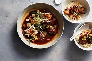 Vegetarian mapo tofu with shiitake mushrooms recipe : SBS Food