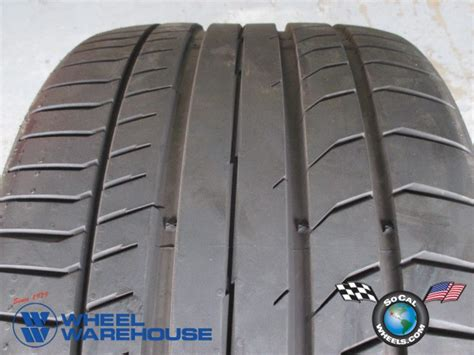 One Continental Contisportcontact 5p Mbz Tire 285/30/19