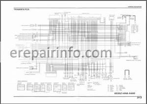 Honda Trx680 Rincon Service Manual Atv  U2013 Erepairinfo Com