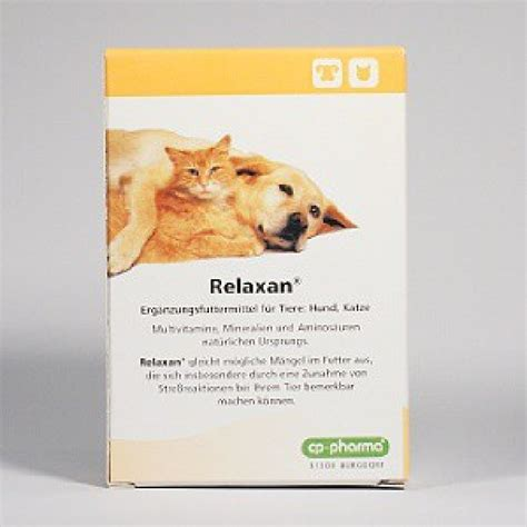 cp pharma relaxan  tabl vitaminemineralstoffe