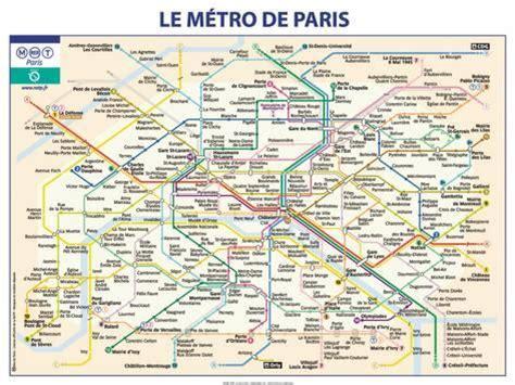 Carte Métro Rer Banlieue by M 233 Tro De Poster Av Ratp Hos Allposters No
