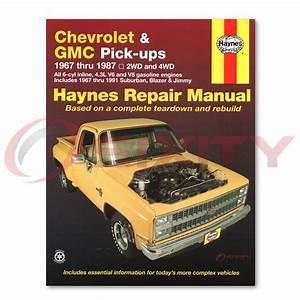 Chevy C10 Haynes Repair Manual Big Ten Custom Deluxe