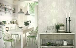 kitchen wallpaper ideas white kitchens