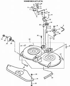 John Deere Lt155 Mower Deck Belt Routing