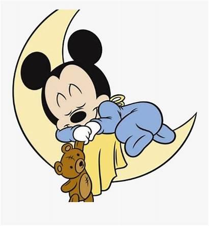 Mickey Mouse Sleeping Clipart Disney Clipartkey