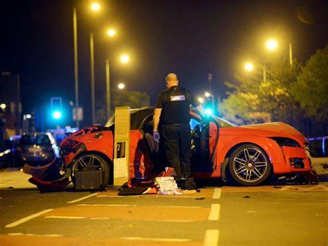 Watch Stolen Sports Car Damaged In Huge Crash In