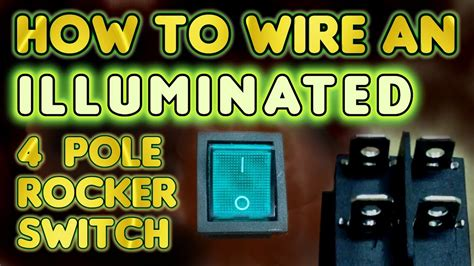 How Wire Illuminated Pole Rocker Switch Kcd