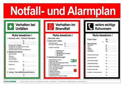 Maybe you would like to learn more about one of these? Notfall und Alarmplan - INSISHOP by INSIPLAN