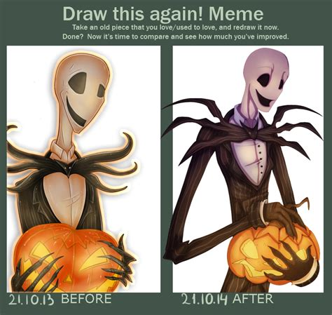 Trick Or Treat Meme - draw this again meme trick or treat by green nightingale