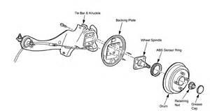 2003 Ford Escape Suspension Parts Diagram