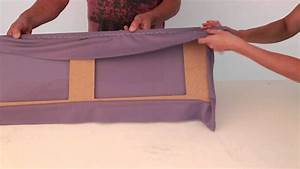 Rahmen Mit Stoff Beziehen : akustikstoff auf einen rahmen tackern youtube ~ Markanthonyermac.com Haus und Dekorationen