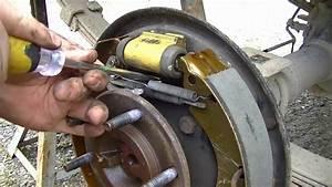 Replacing Drum Brake Shoes 08 Chevy Colorado 100k Miles