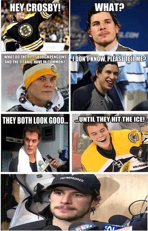 Funny Nhl Memes - hey crosby boston bruins pinterest jokes lol funny and facebook