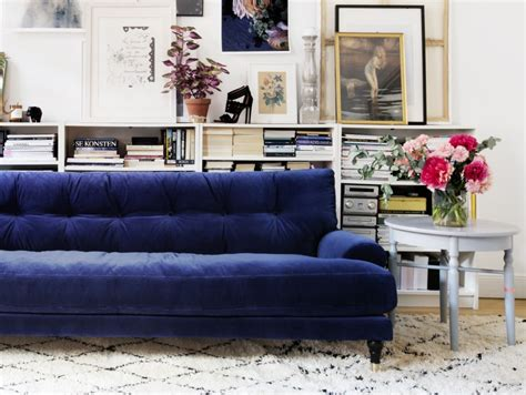 canapé h et h inspirations pour un canapé en velours joli place