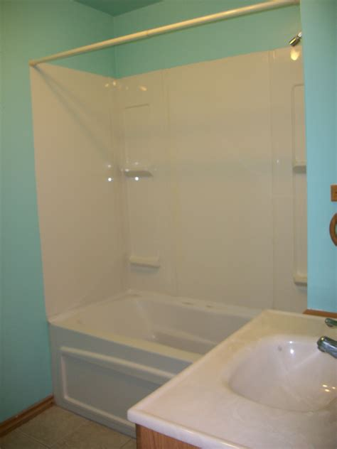 plastic shower a board and beyond home improvements graham ave