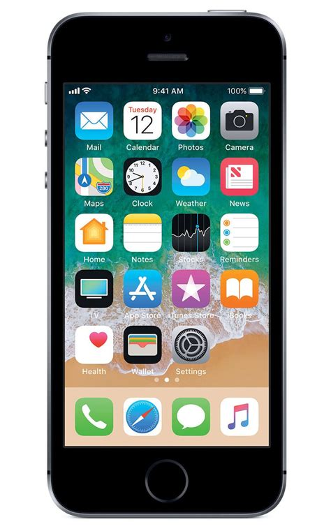 Phone Mobile by Apple Iphone Se 32gb Space Gray Bản Quốc Tế Mobile