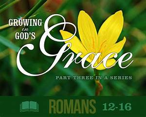Growing in God's Grace (Series) - Community Bible Fellowship
