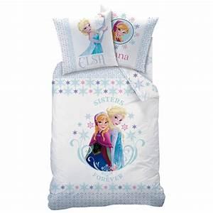 Frozen reine des neiges parure de lit housse de for Suspension chambre enfant avec housse de couette la reine des neiges 200x200