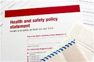 bristol university safety and health services policies With health and safety statement of intent template