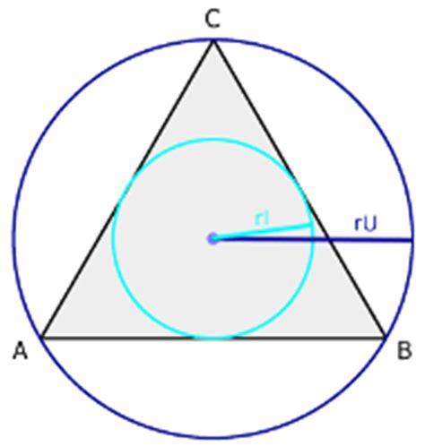 gleichseitiges dreieck geometrie rechner