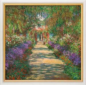 monet claude quotgarten in givernyquot 1902 kleine zeitung shop With französischer balkon mit monet garten giverny