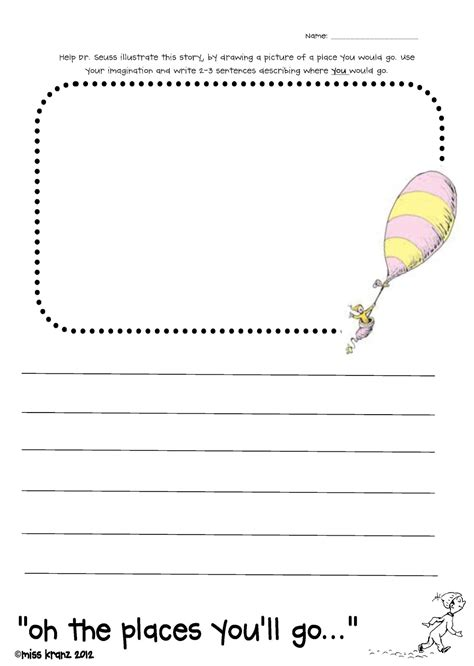 oh the places you ll go preschool activities a day in the of miss kranz today is your day freebie 419