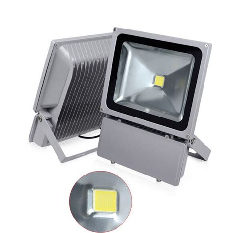 4pcs lot 85 265v 100w led floodlight outdoor 100w led