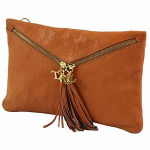 Sac Pochette Bandoulière : sac pochette cuir bandouli re mode femme tuscany leather ~ Teatrodelosmanantiales.com Idées de Décoration