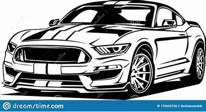 Mustang Vector Ford Shelby Cobra Gt Legendary
