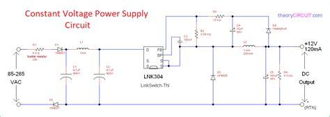 Constant Voltage Power Supply Circuit