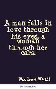 Women Quotes & ... Man Eyes Quotes