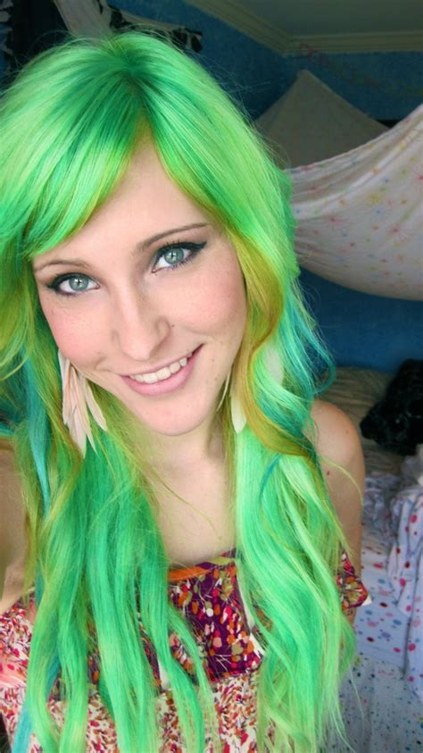 1000 Images About Green Hair On Pinterest Mint Hair