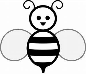 Bee Outline Clip Art - ClipArt Best
