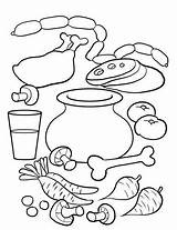 Soup Coloring Stone Pages Preschool Activities Template Pot Crafts Strega Nona Kindergarten Stones Arts Sopa Worksheet Printable Sketchite Sketch Printables sketch template