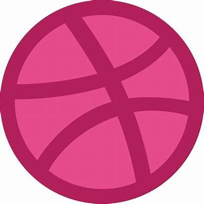 Dribbble Logos Svg Pink