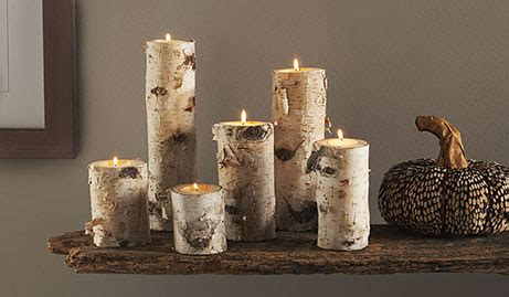 diy birch wood log candle holders guide patterns
