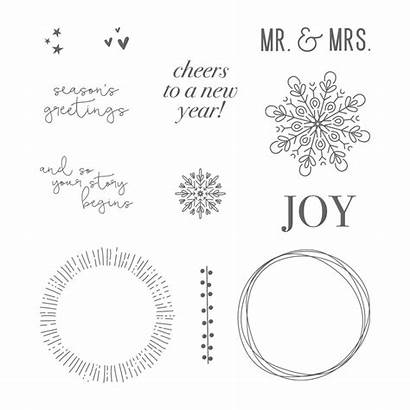 Cheers Stampin Stamp Card Christmas Clear Cheer