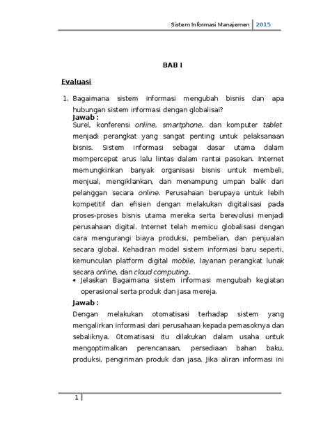 Sistem informasi manajemen TS | M Nur Alamsyah - Academia.edu