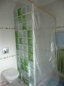 mur en brique de verre 2018 avec carreaux de verre salle With carreaux de verre salle de bain