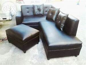 black leather l shape sofa set for sale philippines find With sofa couch philippines