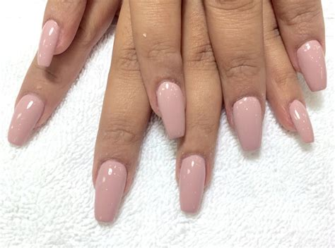 Acrylic Nails With Coffin Shape