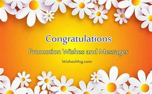 Job Promotion Wishes - Congratulation Messages For ...