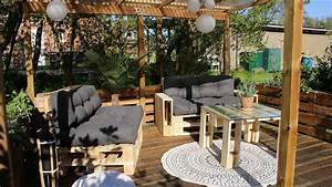Terrasse Tiefer Als Garten : terrasse aus paletten selber bauen europaletten diy anleitung ~ Orissabook.com Haus und Dekorationen