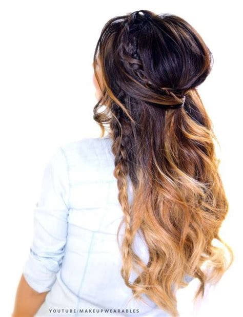 Half Updo Hairstyles Tutorial by 4 Easy Hairstyles For Greasy Hair Tutorial Bouffant