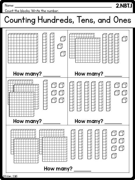 grade math worksheets nbt place  digital