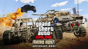 Rhino Hunt New Adversary Mode In GTA Online Rockstar Games